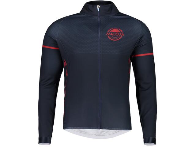 Maloja PushbikersM. 1/1 Long Sleeve Bike Jersey Men mountain lake
